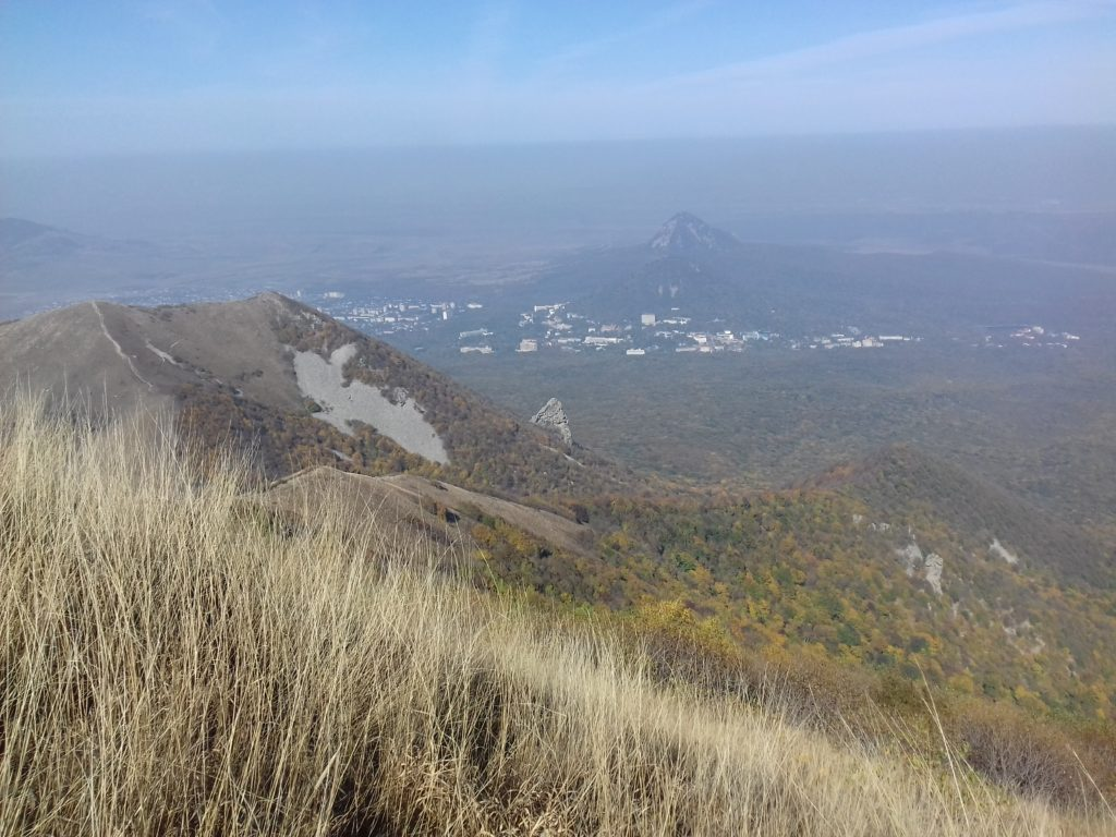 Железноводск с вершины Бештау